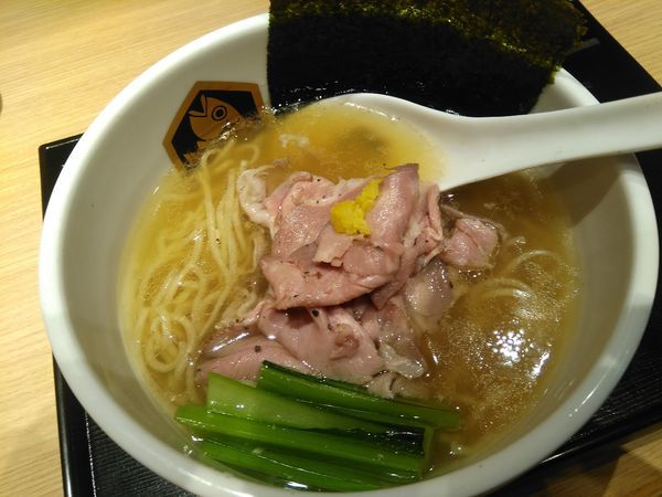「鰤らーめん¥918」@真鯛らーめん 麺魚 錦糸町PARCO店の写真