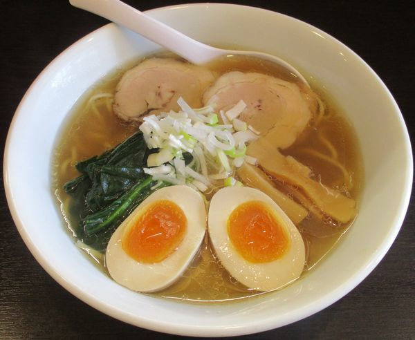 「味玉ラーメン 750円」@麺屋 楠の写真
