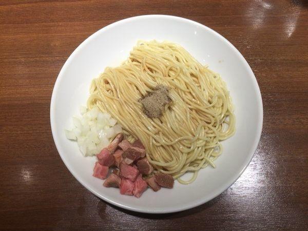 「そのまま食べられる替え玉」@麺屋 ねむ瑠の写真