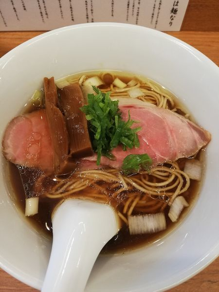 「らぁ麺」@らぁ麺 時は麺なりの写真