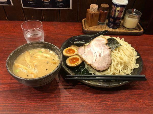 「味噌だれつけ麺」@北海道らーめん ひむろ 上野店の写真