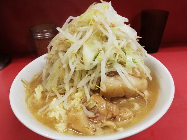 「ラーメン豚入り」@ラーメン二郎 ひばりヶ丘駅前店の写真