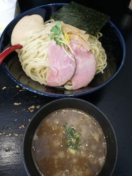 「梅と煮干つけ麺」@麺屋 ちょこざいの写真