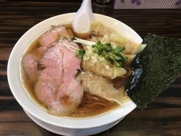 「ワンタン麺」@稲荷屋の写真