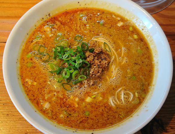 「魚介香る担々麺 ¥810」@らーめん芝浜の写真