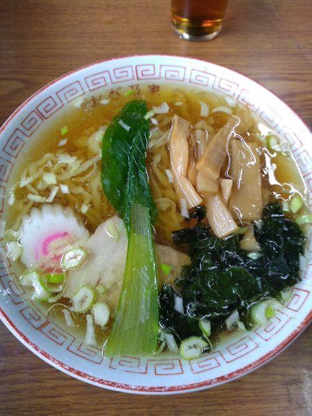 「ラーメン 500円 チャーハン 500円」@おぎ乃家食堂の写真