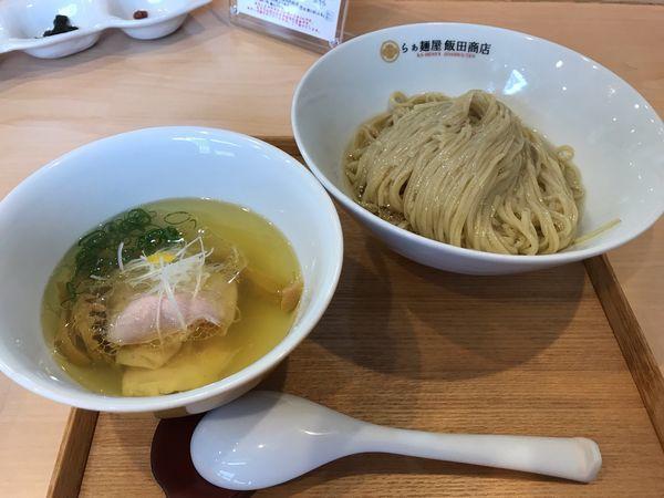 「塩つけ麺」@らぁ麺 飯田商店の写真