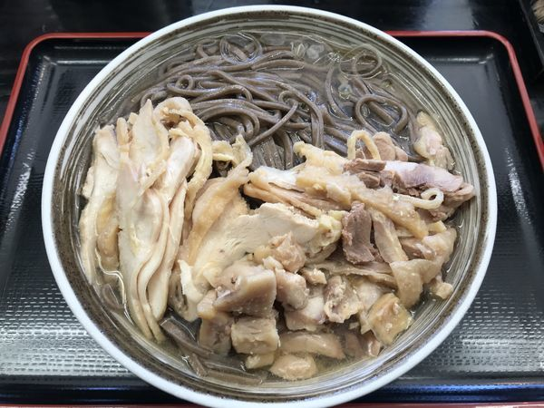 「肉そば 大  750円」@肉そば藤七の写真