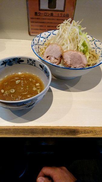 「塩つけ麺大盛850円野菜増し」@らーめん 陸 尾山台店の写真