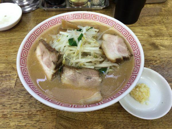 「【期間限定】炒め味噌ラーメン(麺硬め)」@中華蕎麦 丸め 東久留米店の写真