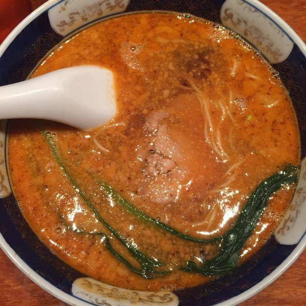 「だんだんめん 半麺」@支那麺 はしご 銀座四丁目店の写真