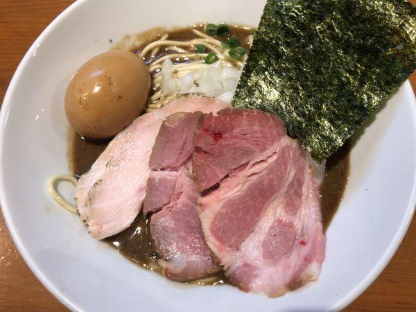 「特製濃厚蕎麦+和え玉」@亀戸煮干中華蕎麦 つきひの写真