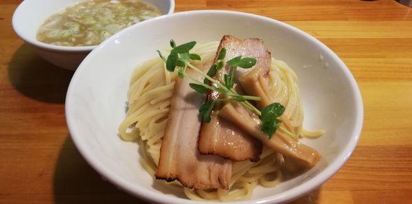「ネギつけ麺 中」@烏城の写真