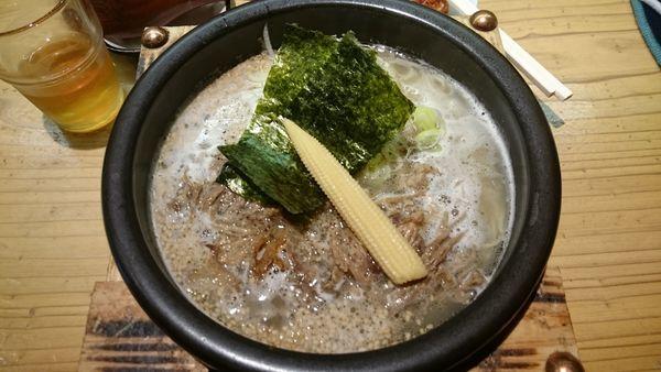 「塩らぁめん730円」@肉汁麺 牛ごろ極の写真