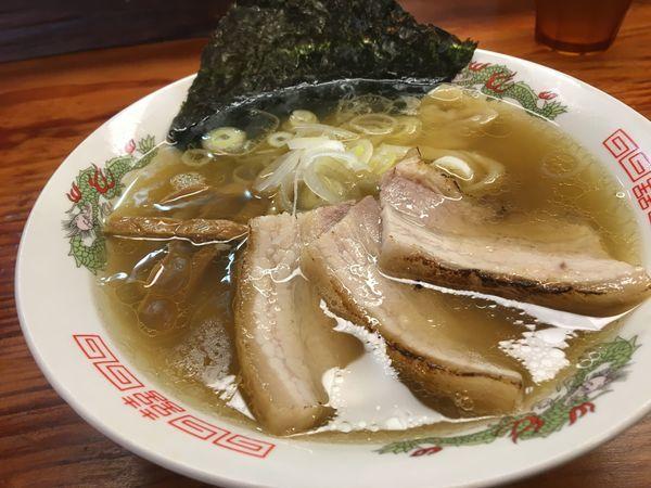 「【レトロ盛り】塩らーめん」@純手打ち 麺と未来の写真