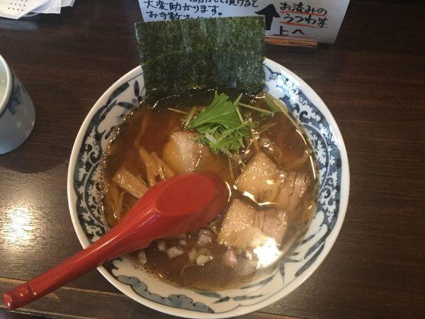 「中華そば・手打ち麺(¥730)」@中華そば 東京ぐれっちの写真