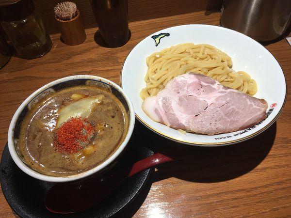 「辛い煮干つけそば 中盛・1辛(基本)」@NIBOSHI TSUKEMEN 凪 新宿ゴールデン街店新館の写真