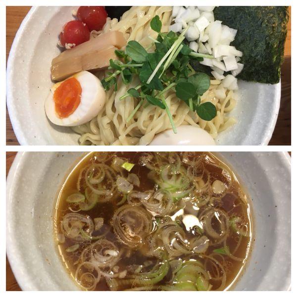 「あっさりつけ麺」@二代目 村岡屋の写真