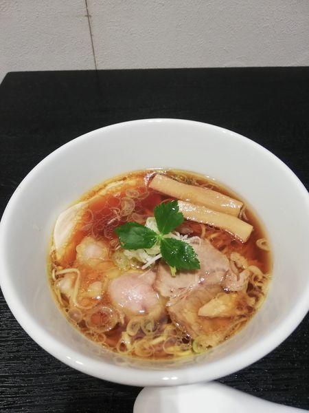 「鶏醤油らぁめん 900円」@らぁ麺とうひち 新宿高島屋京都美味コレクションの写真