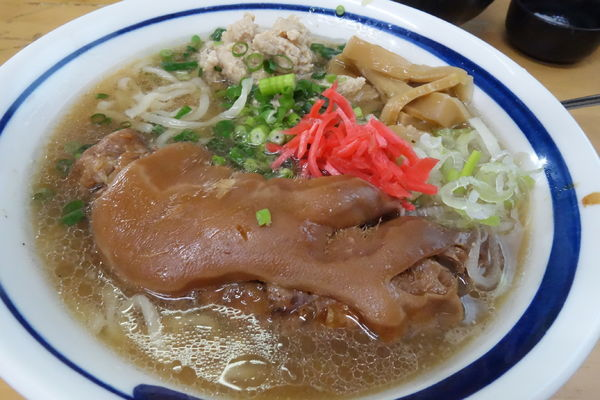 「【限定】PIG's FOOT(ジャンク&コラーゲン)」@MENYA 食い味の道有楽の写真