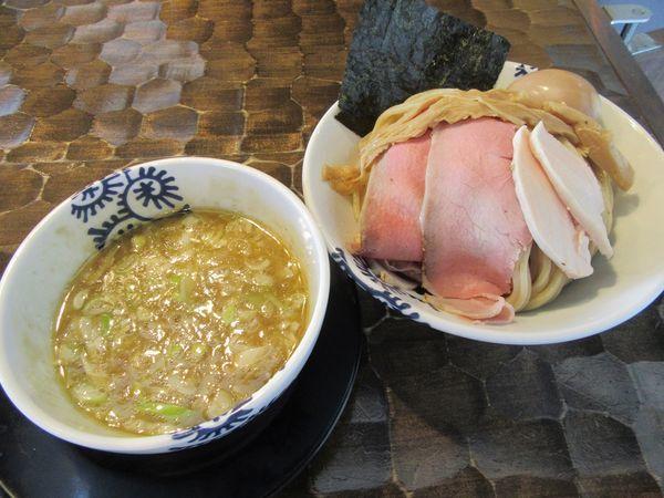 「龍介つけそば大盛(880円)+特級TP250円」@特級鶏蕎麦 龍介の写真