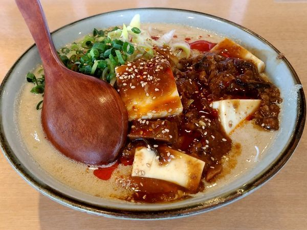 「麻婆担々麺(並盛・160g)1,134円」@麺や 和の写真