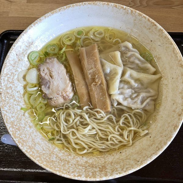「ワンタン麺(塩)¥780」@中華そば 弥太郎の写真