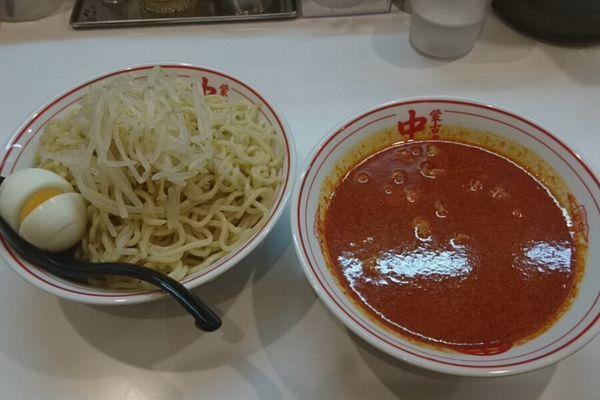 「冷し味噌ラーメン」@蒙古タンメン 中本 柏店の写真