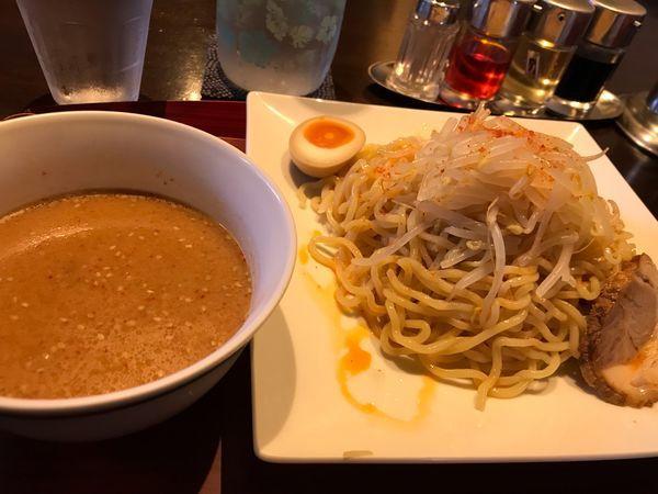 「辛みそつけ麺」@七八の写真