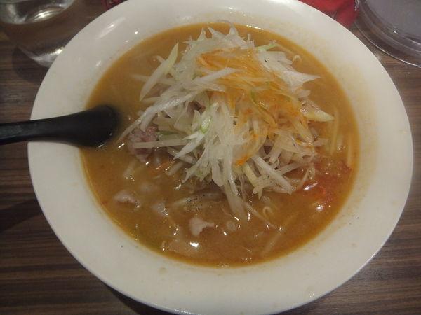 「ネギ味噌ラーメン850円(柏・我孫子ランパス11で540円」@麺処・餃子処 TESHIの写真