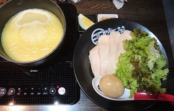 「濃厚鷄白湯つけ麺 塩」@麺屋 時茂 西川口店の写真