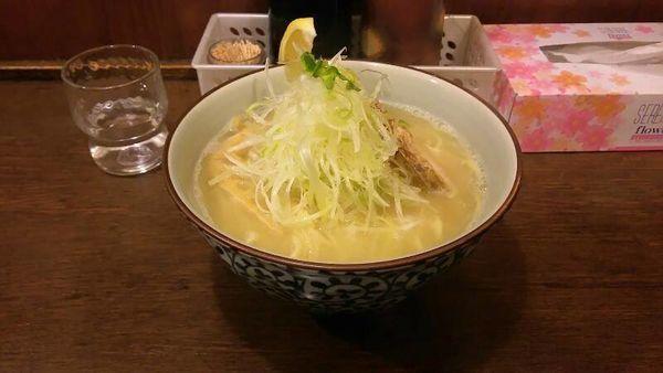 「塩ラーメン大盛り(880円)」@麺屋蕪村の写真