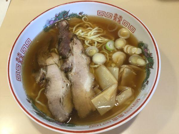 「越中ラーメン(¥650)」@喜八の写真
