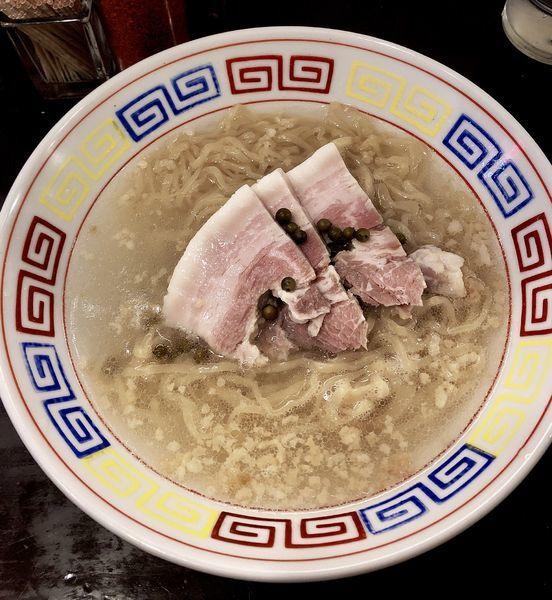 「【ゲリラ限定】塩胡椒 850円」@づゅる麺 池田の写真