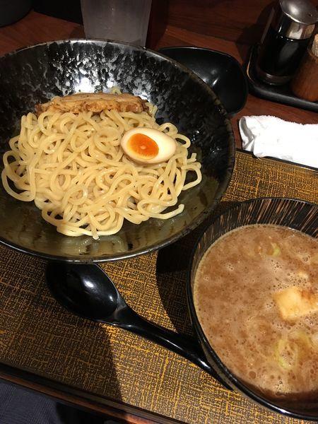 「魚介豚骨つけ麺」@麺匠 竹虎 六本木店の写真