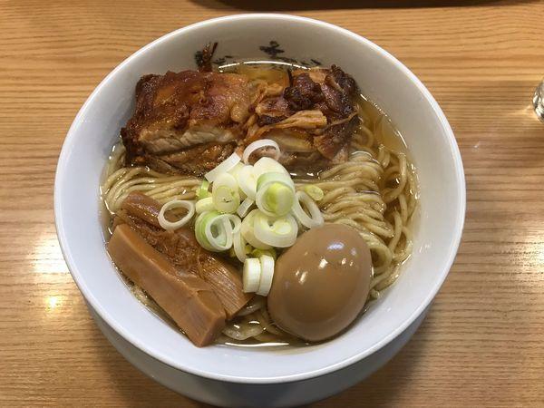 「macro+大盛+煮卵+盛り合わせ」@人類みな麺類の写真