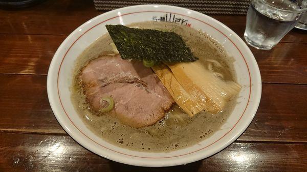 「濃厚煮干し 800円」@らー麺 山さわの写真