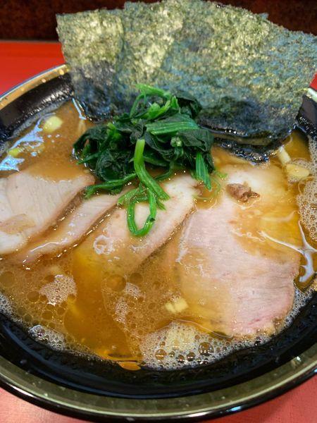 「チャーシュー麺850円+ライス120円」@環2家の写真