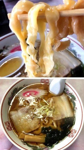 「手打ちラーメン」@せせらぎ食堂の写真