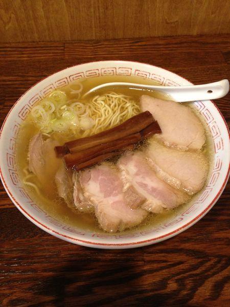 「中華そば 650円 焼き豚200円」@中華そば さとう 大船店の写真