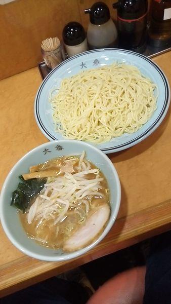 「大番つけ麺550円」@大番 下赤塚店の写真