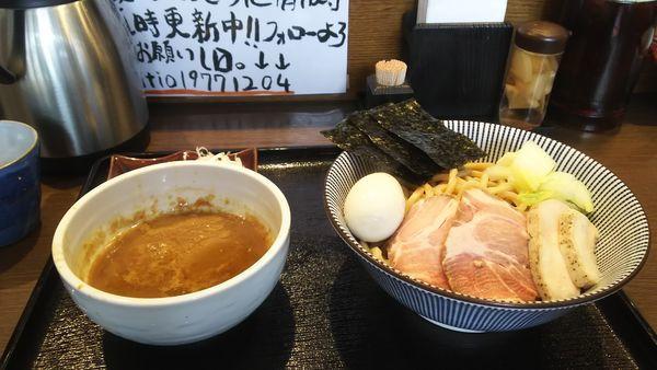 「特製つけ麺大盛(300g)」@長男、もんたいちおの写真