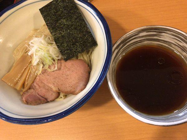 「鶏ダシ醤油つけ麺」@麺処 富士松の写真