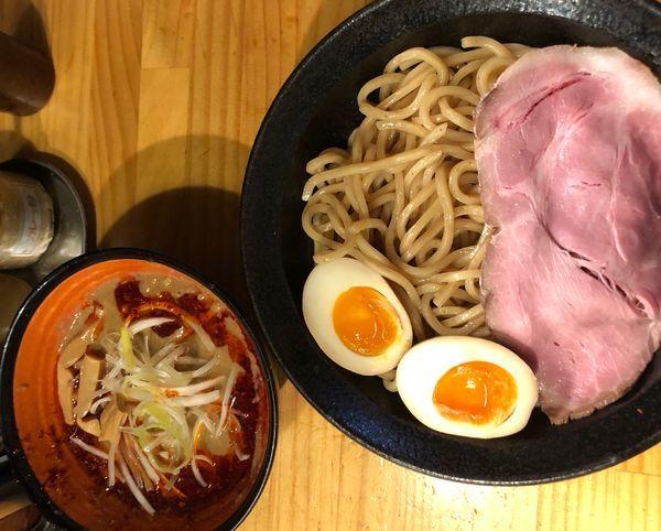 「辛味噌つけ麺 中盛」@miso style となみの写真