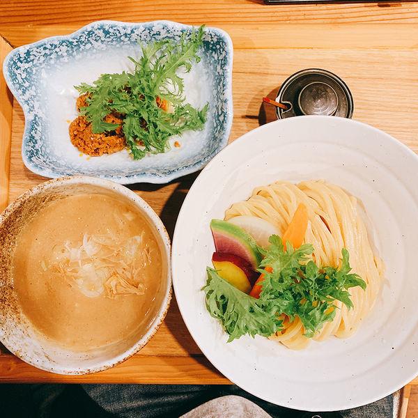 「鶏坦々つけ麺 中」@つけ麺 竹川の写真