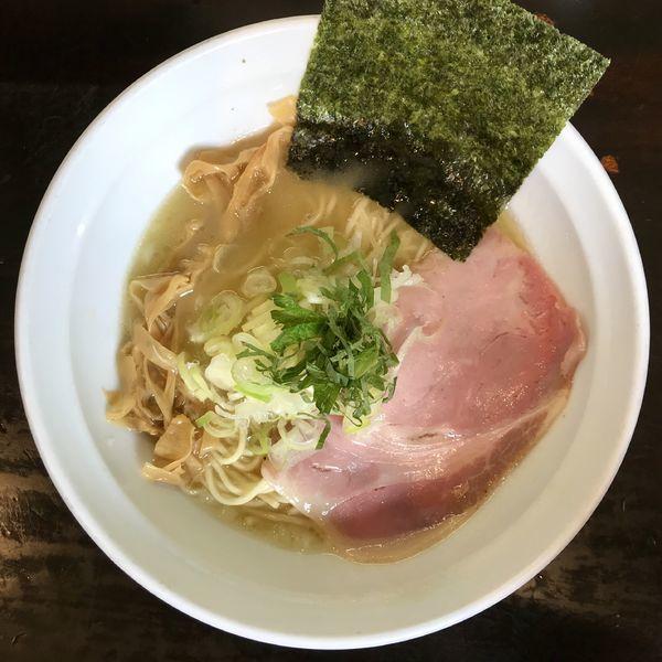 「鶏濃麺 塩 ¥800円」@濃麺 海月の写真