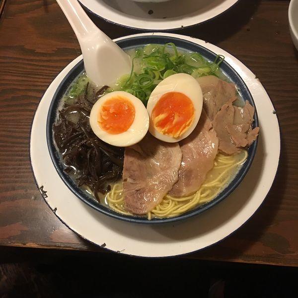 「味玉らーめん」@博多ラーメン しばらく 日本橋店の写真