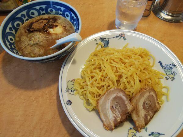 「濃厚つけ麺 大盛り(麺2玉)」@テンホウ 松本渚店の写真