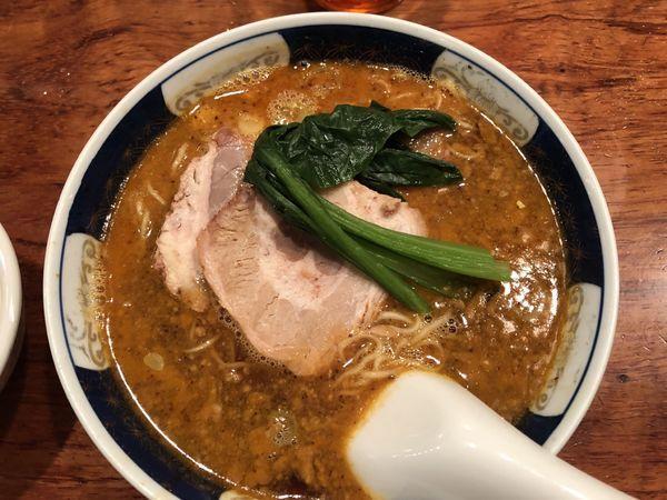 「太肉担々麺」@支那麺 はしご 銀座本店の写真