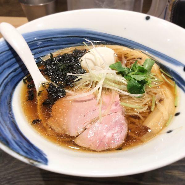 「真鯛味玉醤油らーめん」@麺屋 翔 みなとの写真